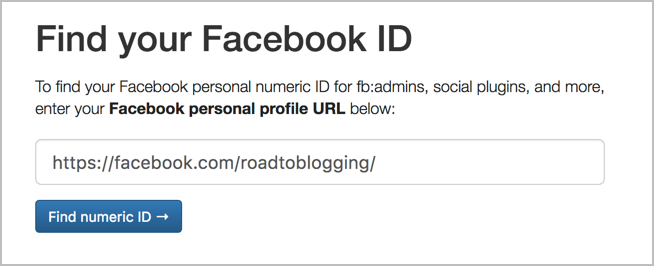 How To Find A Facebook Page/Profile ID In 2020